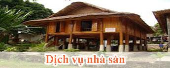 Dịch vụ nhà sàn - Dich vu nha san
